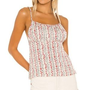 Free People Donna Printed Light Combo Women's Cami NWT - Size M